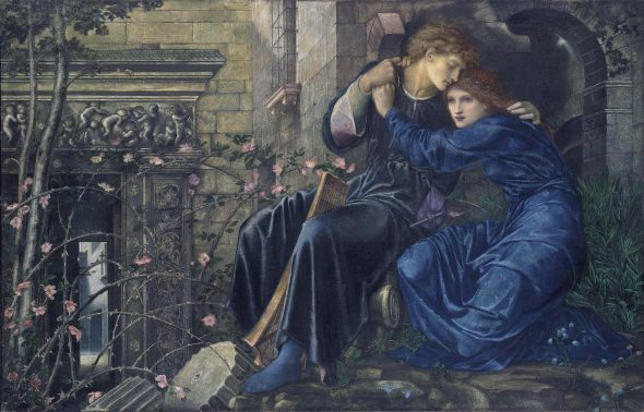 Edward Burne-Jones, Love among the Ruins