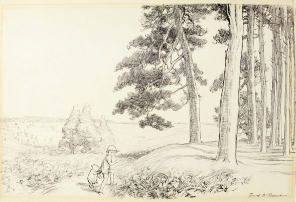 E.-H.-Shepard_an-enchanted-place-on-the-very-top-of-the-Forest_Estimate-£70000-90000-1024x702