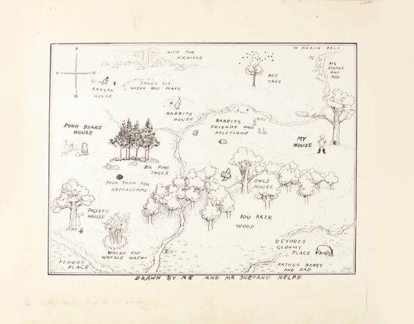 E.H-Shepard_-The-original-map-of-The-Hundred-Acre-Wood-1024x803