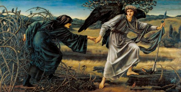 Edward Burne-Jones, Love and the Pilgrim