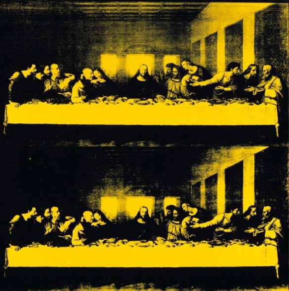 Andy Warhol (1928-1987), Last Supper, 1986. Synthetic polymer paint and silkscreen ink on canvas. 40 x 40 in (101.6 x 101.6 cm). Private Collection © 2018 The Andy Warhol Foundation for the Visual Arts, Inc./Licensed by DACS, London