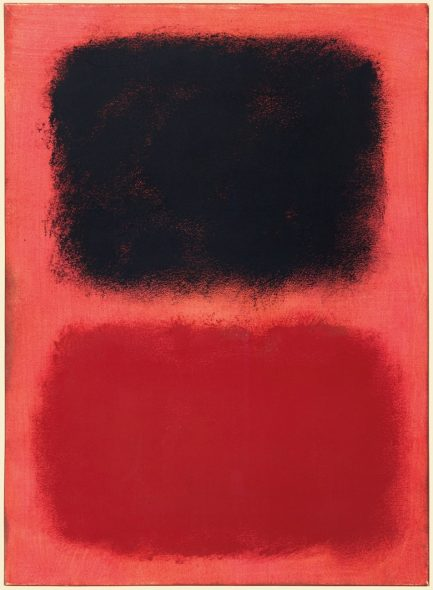 Sacred Noise Mark Rothko (1903-1970), Black and Red on Red, 1962. Oil on paper laid on canvas. 29⅝ x 21⅝ in (75.3 x 54.9 cm). Private Collection © 1998 Kate Rothko Prizel & Christopher Rothko ARS, NY and DACS, London