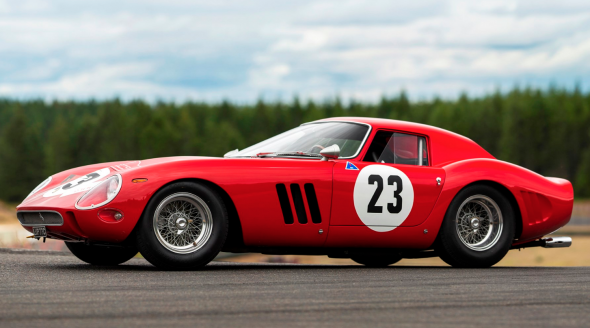 1962 Ferrari 250 GTO by Scaglietti Chassis No.3413 Engine No.3413 Gearbox No.5 Rear differential no.5 STIMA $45,000,000 - $60,000,000 RM   Sotheby's - MONTEREY 2018 - August 25, 2018