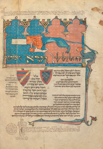 The Torah, known as the Rothschild Pentateuch © Getty Museum