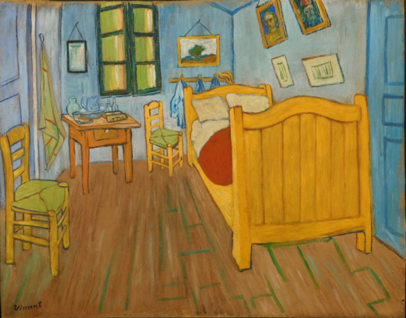 La Camera da letto ad Arles attribuita a Vincent van Gogh