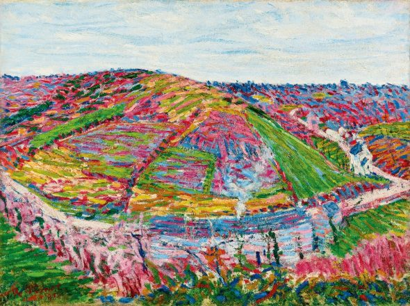 Roderic O'Conor - Landscape, Pont-Aven, 1894 The Radev Collection