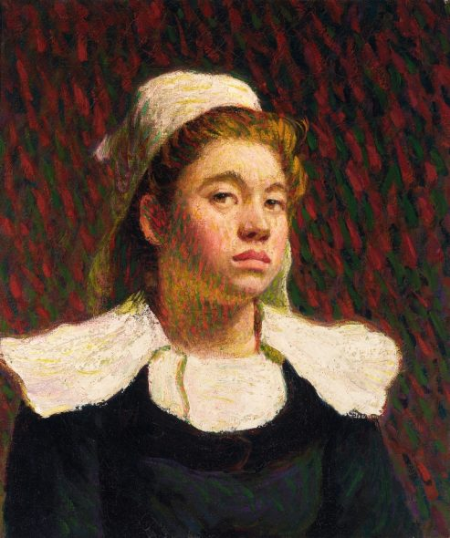 Roderic O'Conor - Young Breton Girl, c. 1895 © National Gallery of Ireland