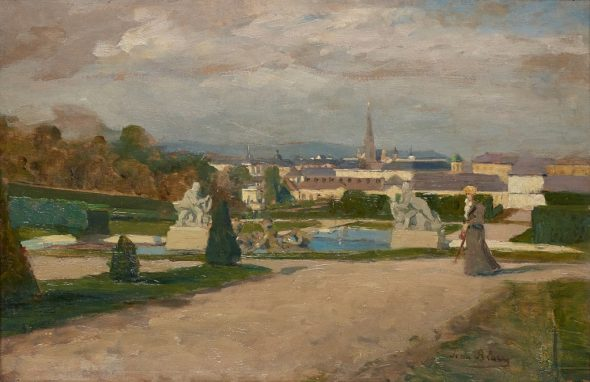 Tina Blau - View from Belvedere, 1894 Photo Johannes Stoll © Belvedere, Vienna