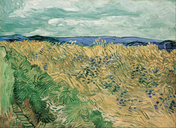 Vincent van Gogh - Campo di grano con fiordalisi, 1890 Beyeler Collection