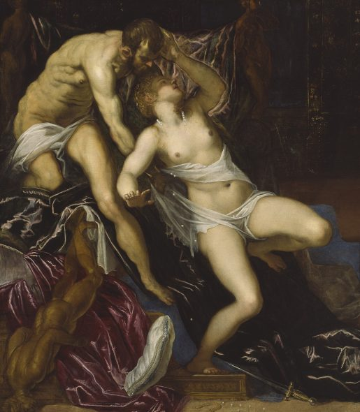 Tarquinio e Lucrezia, 1578 - 1580 ca olio su tela, 175 x 152 cm The Art Institute of Chicago, Art Institute Purchase Fund