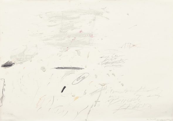 Sperlonga Drawing, (1959). Cy Twombly. £350,000–£550,000
