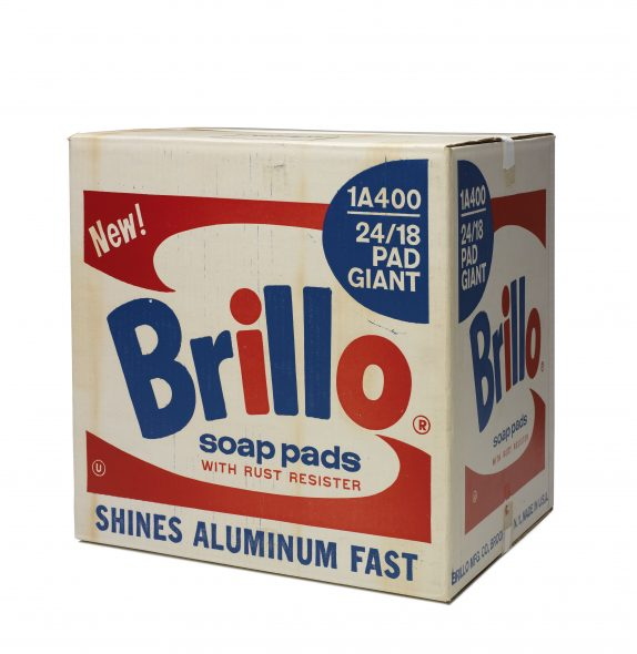 Andy Warhol, Brillo Soap Pads Box , 1968 © 2018 Andy Warhol Foundation for the Visual Arts