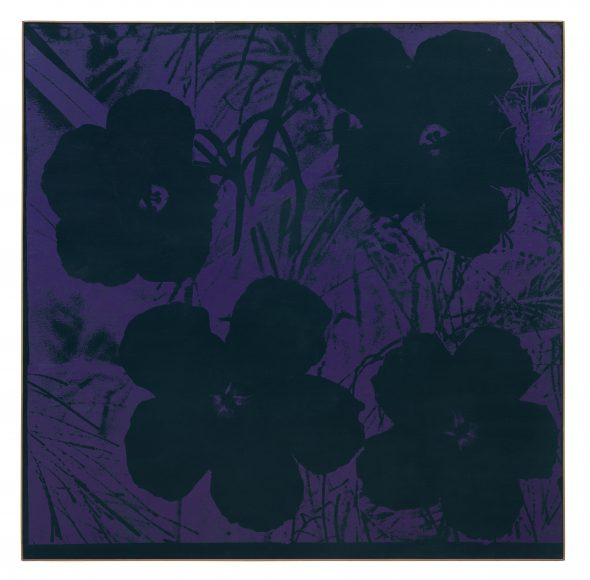Andy Warhol , Ten-Foot Flowers, 1967 © 2018 Andy Warhol Foundation for the Visual Arts