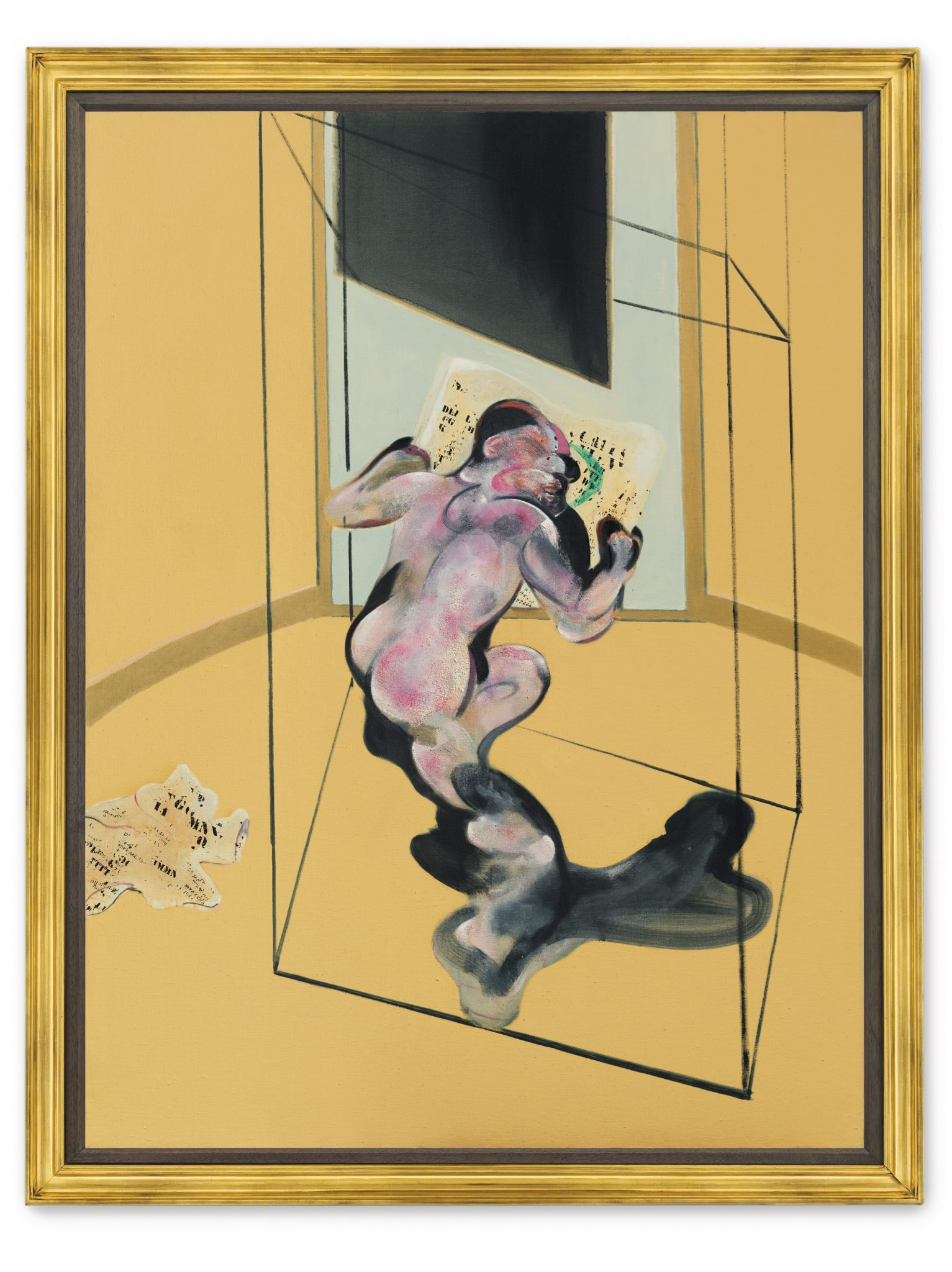 Figure in Movement, Francis Bacon