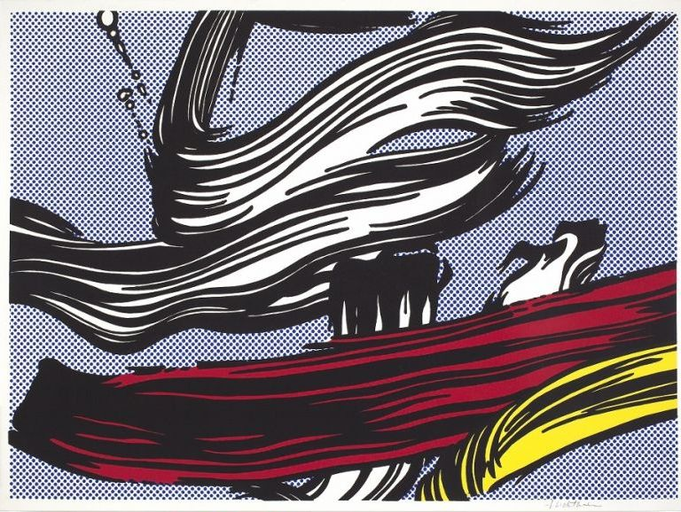 Roy Lichtenstein | Brushstrokes, 1967