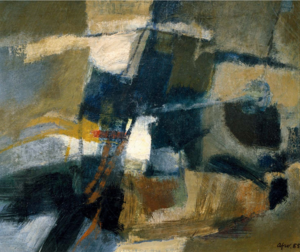 Afro, Untitled, 1955