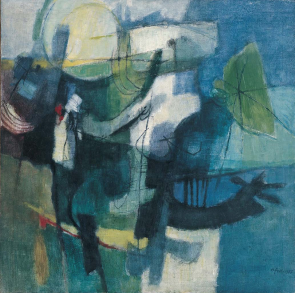 Afro, Summer in the Orchard, 1955