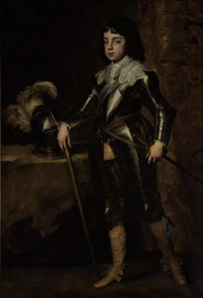 Sir Anthony Van Dyck, Portrait of Charles II, when Prince of Wales, 1641 Oil on canvas Estimate: £2-3 million