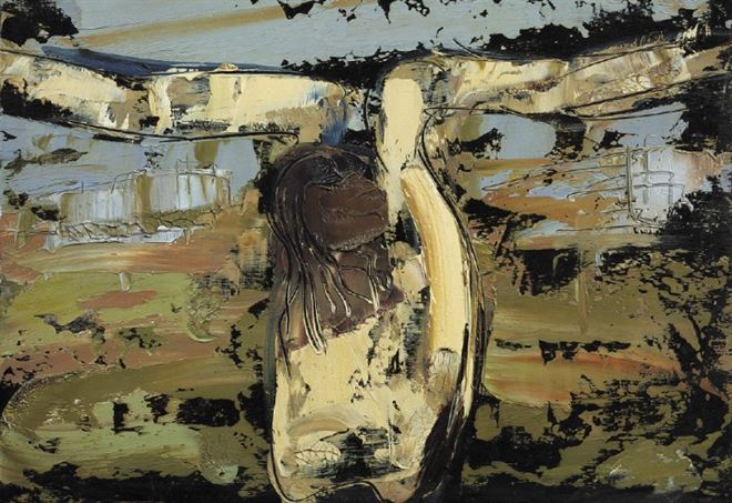 Action Painting e cattolicesimo. Il sacro dramma di William Congdon a Milano