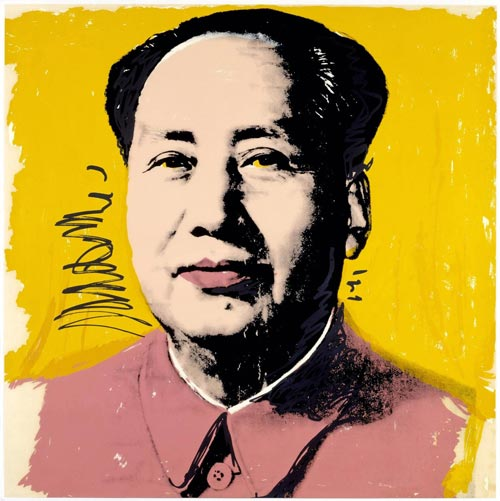 5.Andy Warhol, Mao, 1973.