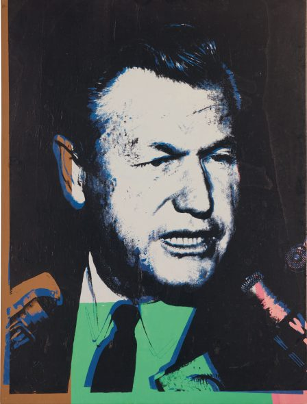 Andy Warhol, Nelson A. Rockefeller. Executed in 1967. Estimate $ 800,00/1.5 million