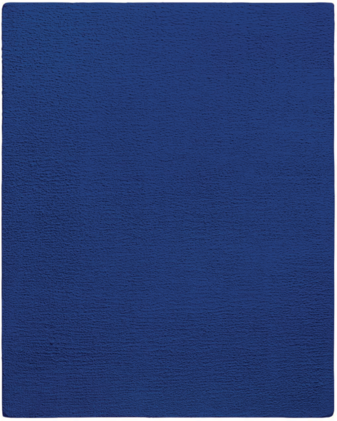 Yves Klein, Untitled Blue Monochrome (IKB 276), 1959 | Photo: Christie's