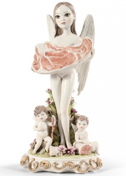 Mark Ryden, Angel of Meat, 2007, Porcelain, Estimate: €15,000 - 20,000