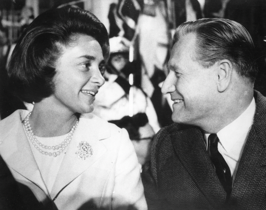 Portrait of Nelson and Happy Rockefeller.