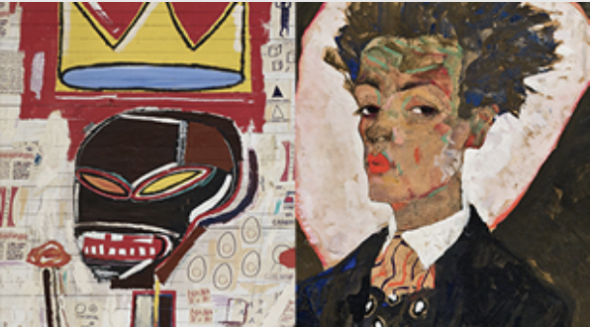 Fondation Louis Vuitton: Jean-Michel Basquiat & Egon Schiele
