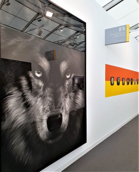 Robert Longo, Untitled (Loris), 2018 da METROPICTURES