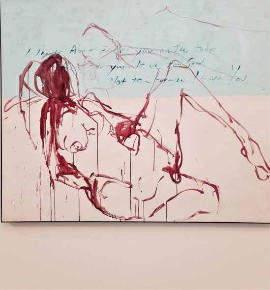 Tracey Emin, I Thought About You, 2015-8 da Xavier Hufkens