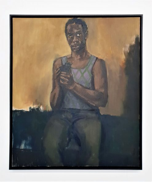 Lynette Yiadom Boakye, Arrangements in Pursui of, 2018, da Jack Shainman