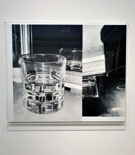 James White, Large Glass, 2018 - Galerie Thomas Zander FIAC 2018