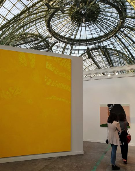 Alex Katz, Golden Image, 2017 - Gavin Brown's enterprise FIAC 2018
