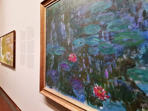 Monet all'Albertina di Vienna. Foto ArtsLife