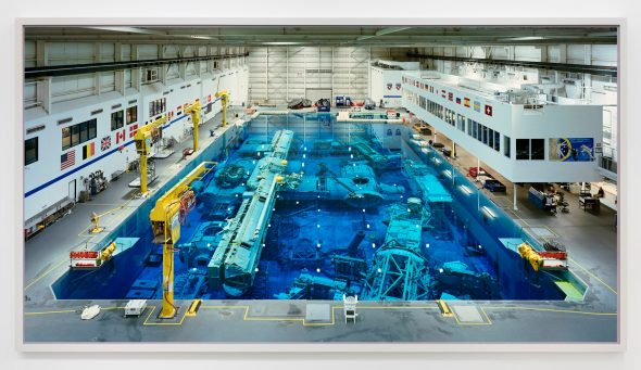 Thomas Struth Neutral Buoyancy Lab, JSC, Houston, 2017 Chromogenic print Image: (202 x 380.7 cm)