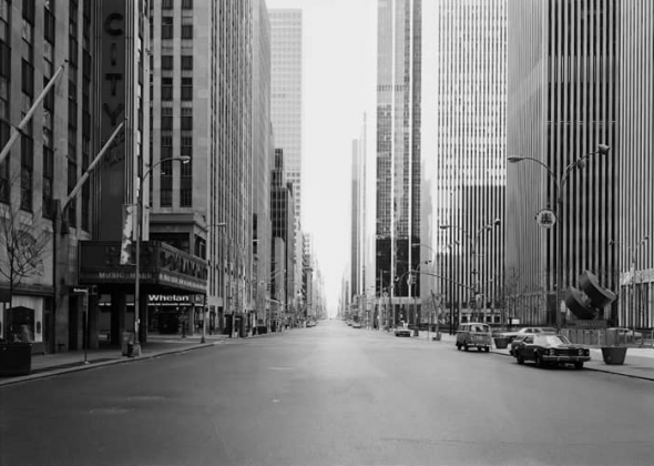 Thomas Struth. 6th Avenue at 50th Street New York 1978
