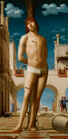 Antonello da Messina, San Sebastiano, The Renaissance Nude, J. Paul Getty Museum, Los Angeles