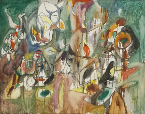 Arshile Gorky, One Year the Milkweed, 1944