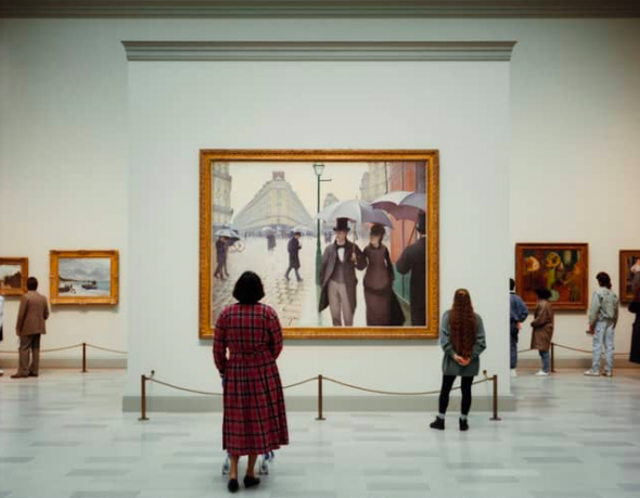 Thomas Struth. Art Institute of Chicago II Chicago 1990 Chromogenic prin. 180,0 x 215,0 cm