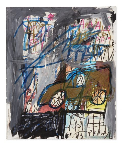 Basquiat, Untitled_1981_EST.-€-300.000-400.000-478x580. Lot Sold 549,000