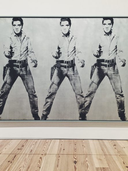 warhol- Triple Elvis [Ferus Type], 1963