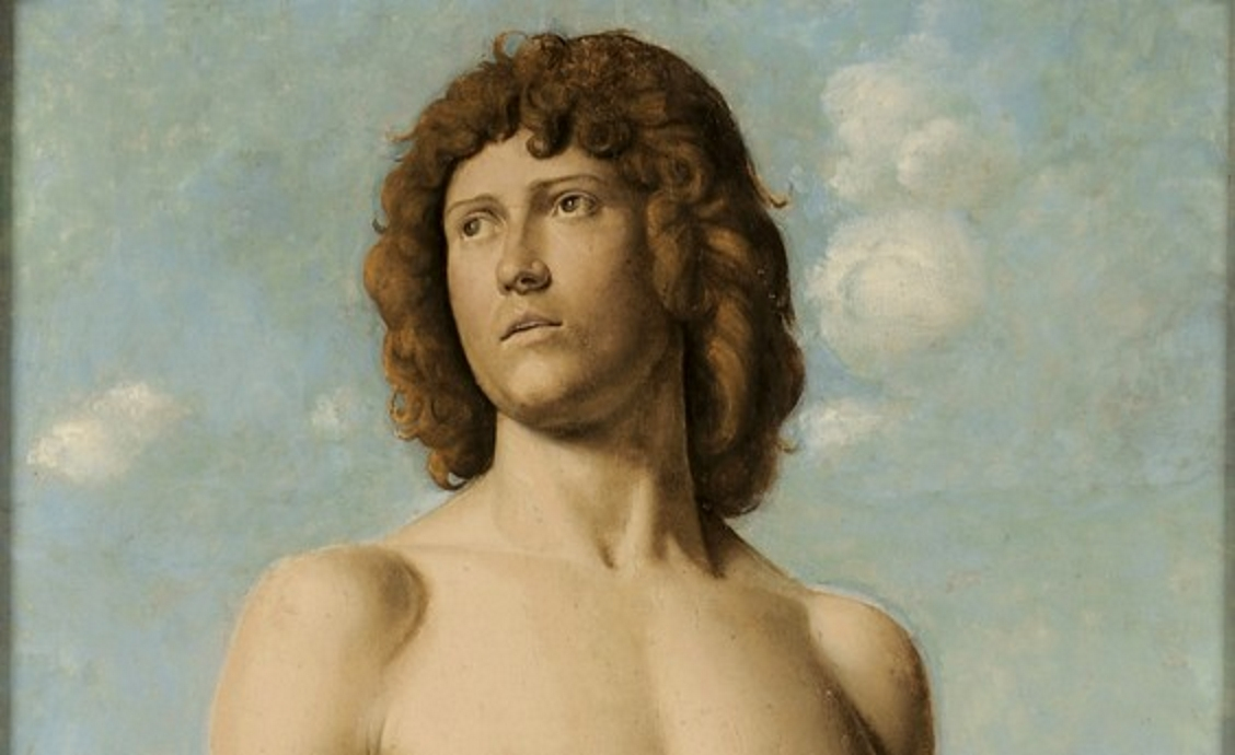 Cima da Conegliano, San Sebastiano (particolare), The Renaissance Nude, J. Paul Getty Museum, Los Angeles