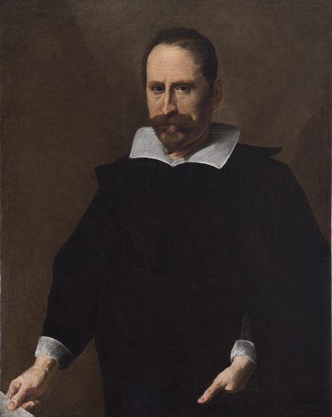 ITALIAN MASTER Circa 1620 Male portrait Oil on canvas, 95 x 74.5 cm