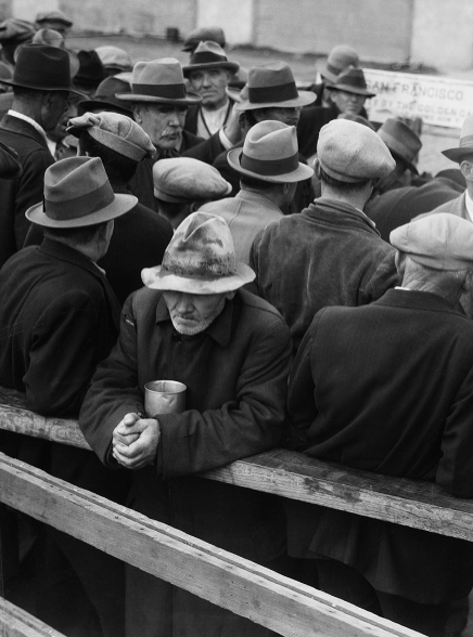 White Angel Breadline; Dorothea Lange