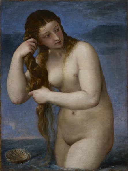 Tiziano, Venere Anadiomene, The Renaissance Nude, J. Paul Getty Museum, Los Angeles