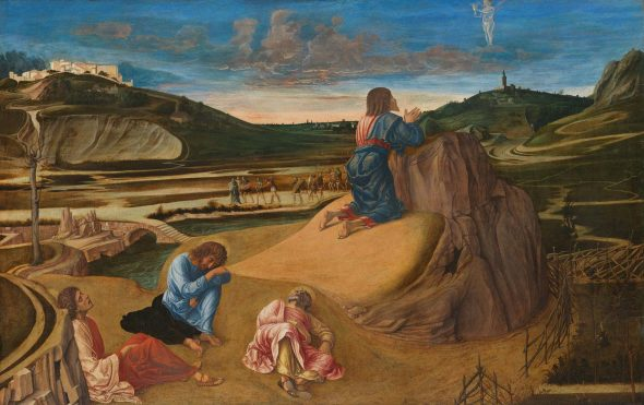 Giovanni Bellini 'The Agony in the Garden' about 1458–60