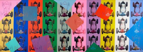 Andy Warhol - Mercedes Benz Formel Rennwagen W125, 1987 The Andy Warhol Foundation for the visual arts