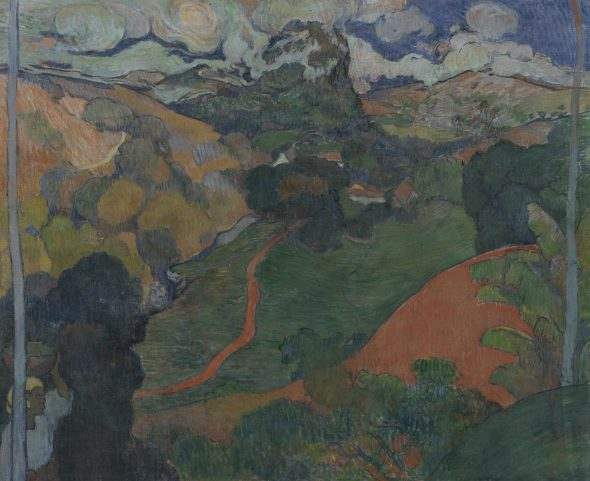 Charles Laval - Paesaggio in Martinica, 1887-8 Van Gogh Museum, Amsterdam (Vincent van Gogh Foundation)