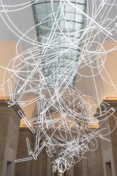 Cerith Wyn Evans, Forms in Space...by Light (in Time), 2017, Tate Britain